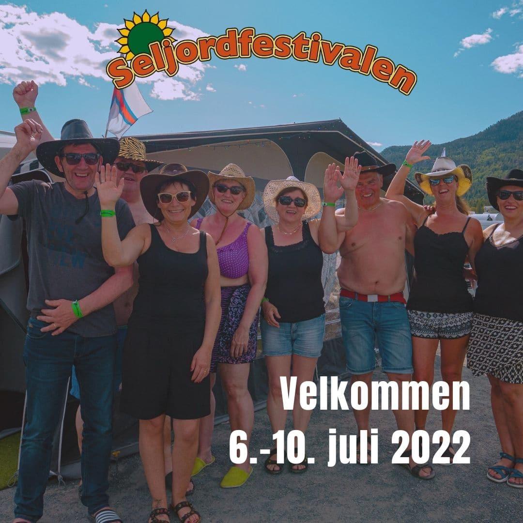 Seljordfestivalen 6.-10. juli 2022